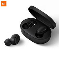 Беспроводные Наушники Xiaomi Redmi AirDots Black (Черный) (Mi True Wireless Earbuds Basic)